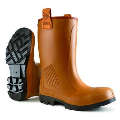 Dunlop Purofort Rig Air Full Safety Fur Lined Rigger Boot C462743.FL