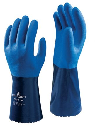 Showa 720R Nitrile Chemical Glove