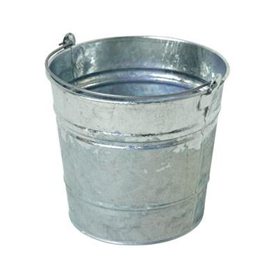 12 Litre Galvanised Steel Bucket BK12