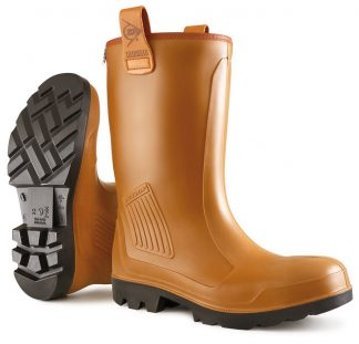 Dunlop C462743 Purofort Rigair Safety Rigger Boot Unlined