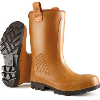 Dunlop C462743 Purofort Rigair Safety Rigger Boot Unlined