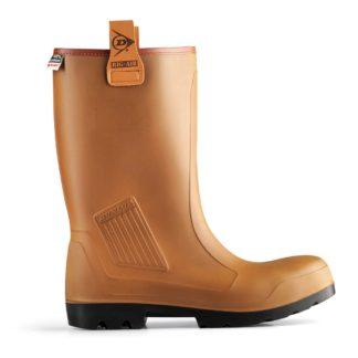 Dunlop C462743.FL Purofort Rigair Fur Lined Rigger Boot